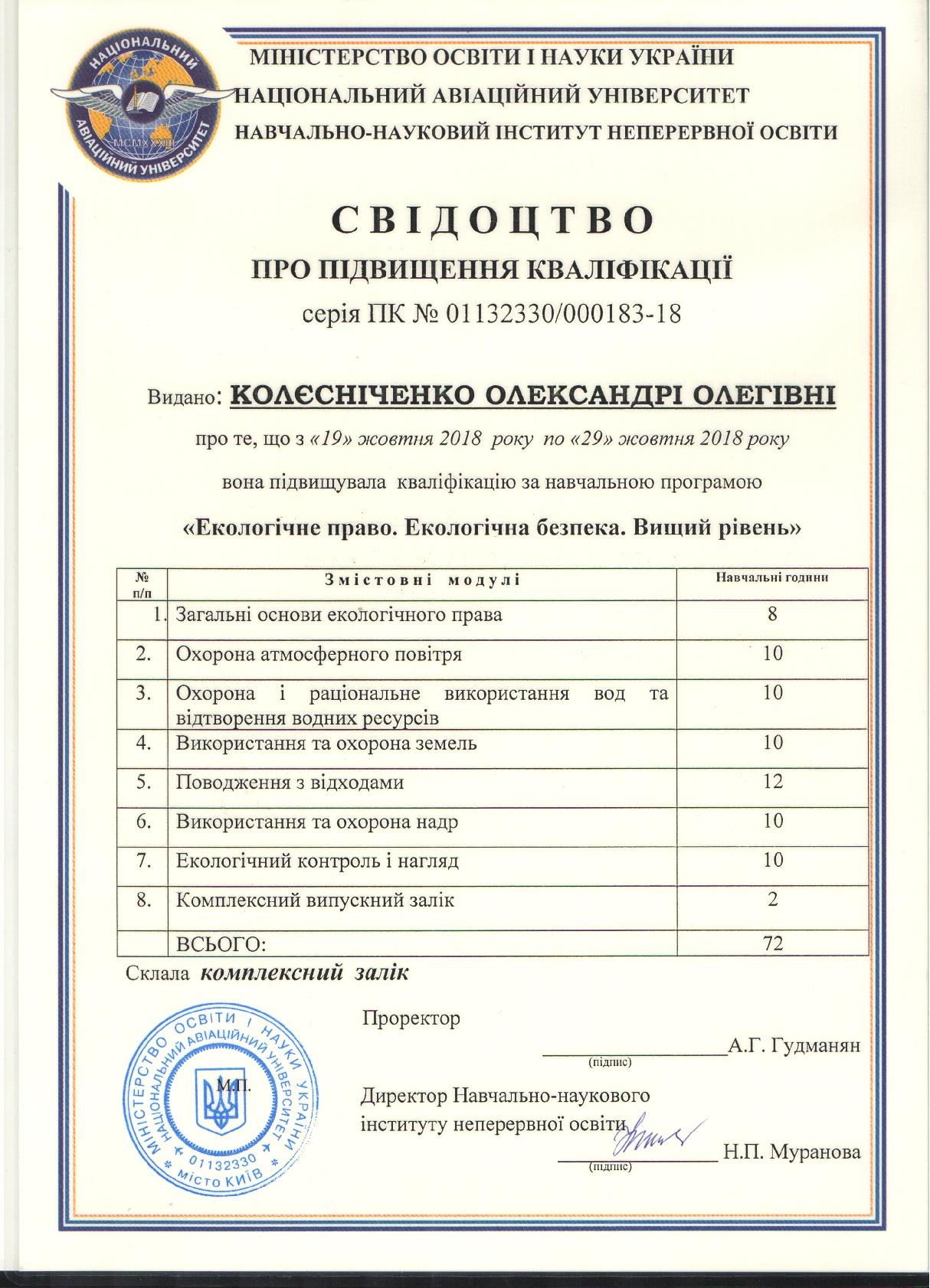 Свидоцтво Колесниченко (1)-001